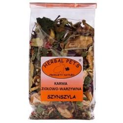 HERBAL PETS Karma ziołowo-owocowa dla szynszyli 150g