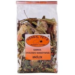 HERBAL PETS Karma ziołowo-warzywna dla królików 150g