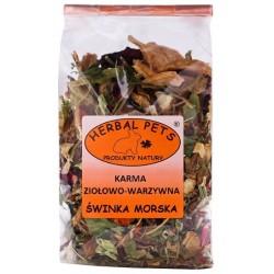 HERBAL PETS Karma ziołowo-warzywna dla świnek morskich 150g