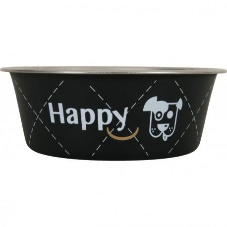 ZOLUX Miska Inox Happy czarna