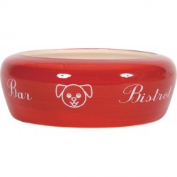 ZOLUX Miska ceramiczna Bar czerwona