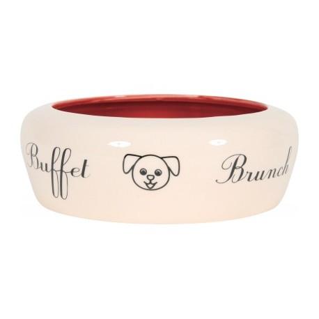ZOLUX Miska ceramiczna Buffet biała