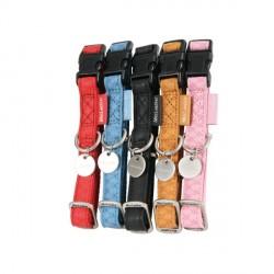 ZOLUX Obroża regulowana Mac Leather 15mm