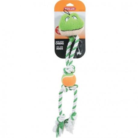 ZOLUX Zabawka Żaba na sznurku zielona