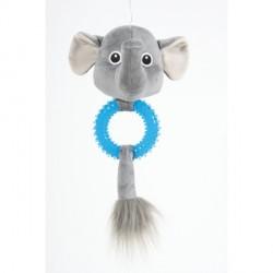 ZOLUX Zabawka Zebra z gumowym brzuszkiem