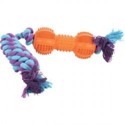 ZOLUX Zabawka Sznur 3 węzły naturalny
