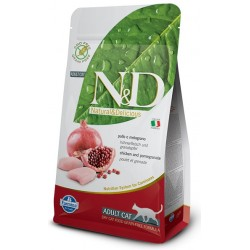 FARMINA N&D GRAIN FREE Adult Cat Chicken & Pomegranate