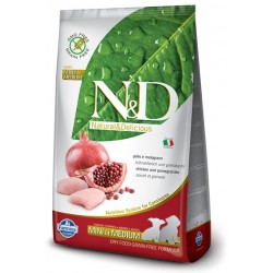 FARMINA N&D GRAIN FREE Puppy Mini & Medium Chicken & Pomegranate