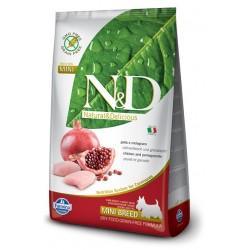 FARMINA N&D GRAIN FREE Adult Mini Chicken & Pomegranate
