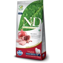FARMINA N&D GRAIN FREE Adult Maxi Chicken & Pomegranate 12kg