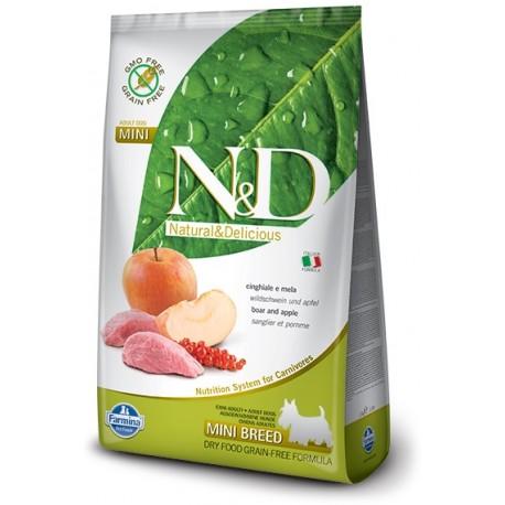FARMINA N&D GRAIN FREE Adult Mini Boar & Apple