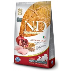 FARMINA N&D LOW GRAIN Puppy Medium Chicken & Pomegranate