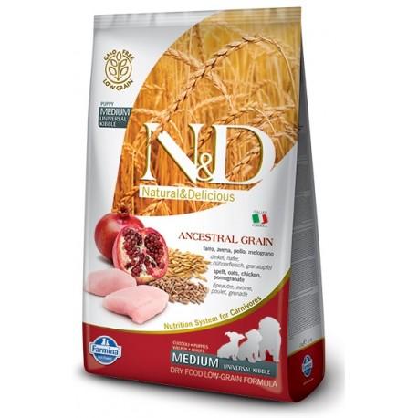 FARMINA N&D LOW GRAIN Puppy Medium Chicken & Pomegranate