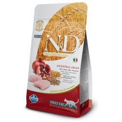 FARMINA N&D LOW GRAIN Adult Cat Chicken & Pomegranate