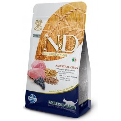 FARMINA N&D LOW GRAIN Adult Cat Lamb & Blueberry
