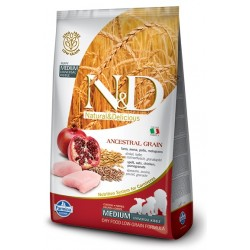 FARMINA N&D LOW GRAIN Puppy Medium Chicken & Pomegranate 12kg