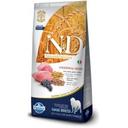 FARMINA N&D LOW GRAIN Adult Maxi Lamb & Blueberry 12kg