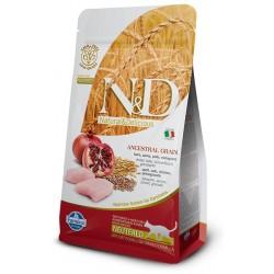 FARMINA N&D LOW GRAIN Adult Cat Chicken & Pomegranate Neutered