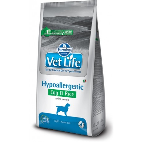 FARMINA VET LIFE Dog Hipo Egg & Rice