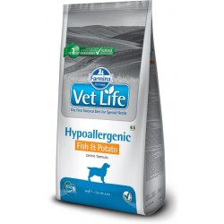 FARMINA VET LIFE Dog Hipo Fish & Potato