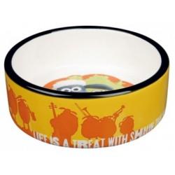 TRIXIE Miska ceramiczna Baranek Shaun pomarańczowa