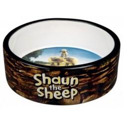 TRIXIE Miska ceramiczna Baranek Shaun brązowa