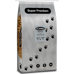 YUMMY Super Premium Dog Senior/Light Fish & Rice