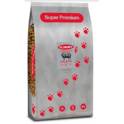 YUMMY Super Premium Dog Adult Lamb & Rice Verm-X
