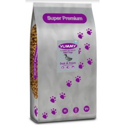 YUMMY Super Premium Dog Adult Duck & Potato Grain Free 2kg PROMOCJA
