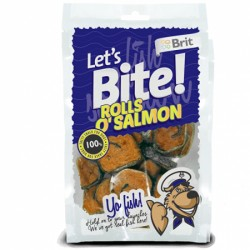 BRIT Care Dog Let's Bite Rolls O'Salmon