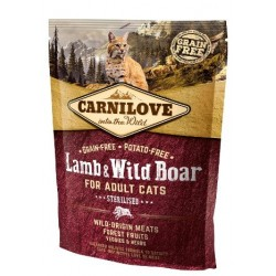CARNILOVE CAT Lamb & Wild Boar Sterilised