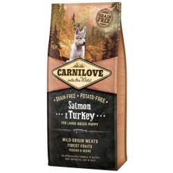 CARNILOVE DOG Puppy Large Salmon & Turkey