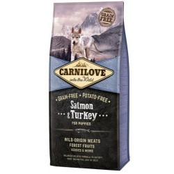 CARNILOVE DOG Puppy Salmon & Turkey