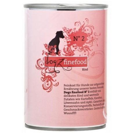 DOGZ Finefood Adult 200g puszka