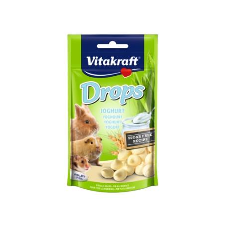 VITAKRAFT Drops Yoghurt dla królika 75g