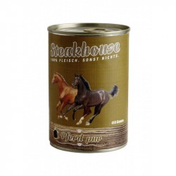 MEATLOVE DOG Steakhouse Pure Goat 410g puszka