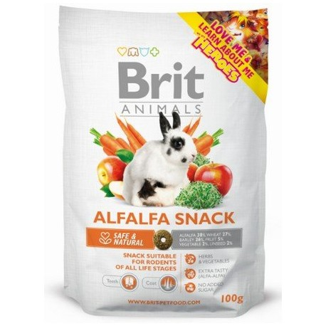 BRIT Animals Alfaalfa Snack 100g