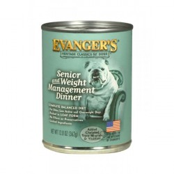 EVANGER'S CLASSIC DOG Senior & light 369g puszka