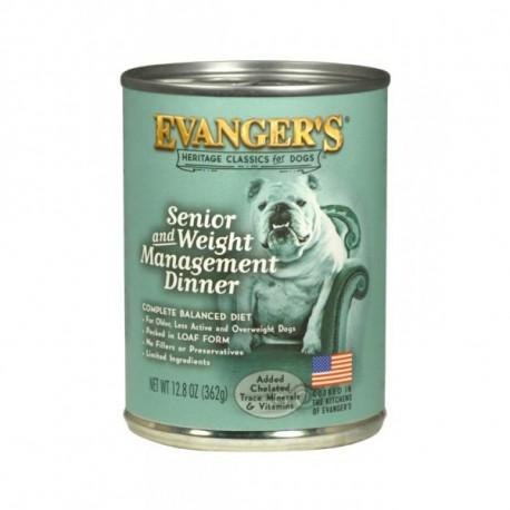 EVANGER'S CLASSIC DOG Przysmak seniora 369g puszka
