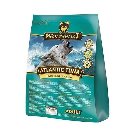 WOLFSBLUT Adult Atlantic Tuna z tuńczykiem i sałatą morską