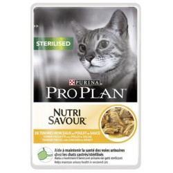 PURINA PRO PLAN CAT NutriSavour Adult Sterilised 85g saszetka