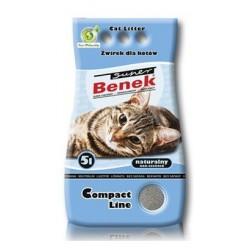 BENEK SUPER Żwirek Compact naturalny