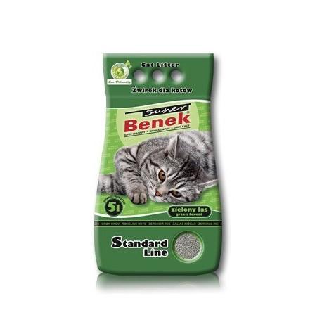 BENEK SUPER Żwirek Standard Zielony Las