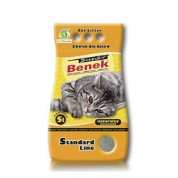 BENEK SUPER Żwirek Standard Naturalny