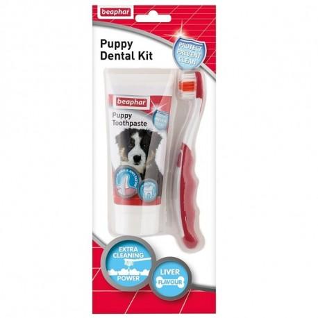 BEAPHAR Puppy Dental Kit 25g + szczoteczka