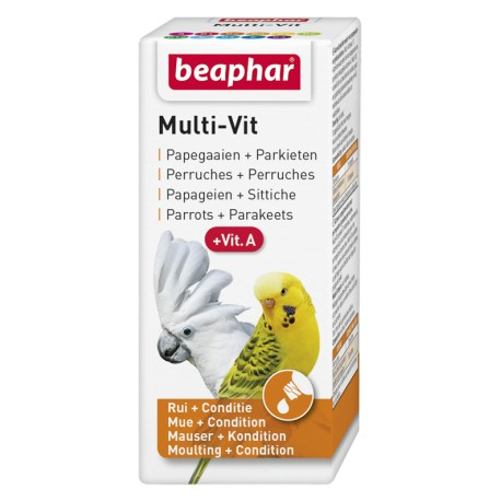 BEAPHAR Bogena Multi-Vit for Parrots 20ml
