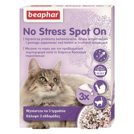 BEAPHAR No Stress dla kotów 3 pipety
