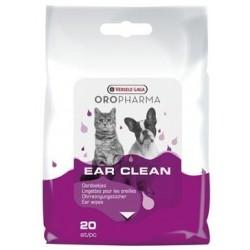 VERSELE LAGA Oropharma Chusteczki do czyszczenia uszu 20szt.