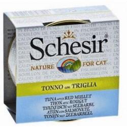 SCHESIR CAT Adult bulion Tuńczyk 70g puszka