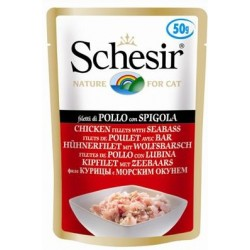 SCHESIR CAT Adult 100g saszetka